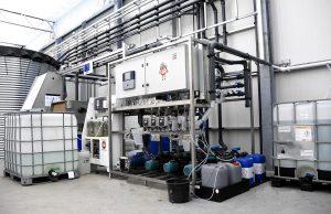 Waterzuivering voor 100% hergebruik van water.